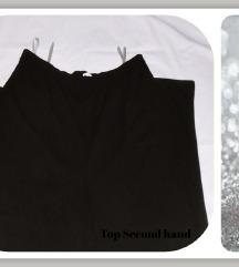 5.5. Elegantne crne XXL pantalone