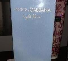 D&G light blure  100 ml nov