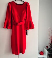 Red dress (novo, sa etiketom)