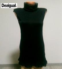 DESIGUAL crna svecana bluza M