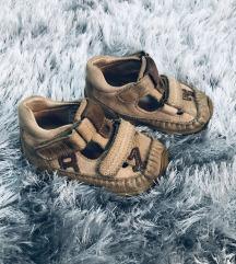 Kožne sandale za dete