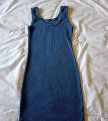 Petrolej plava nova haljina M