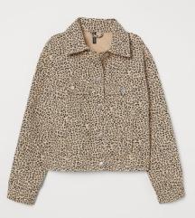 NOVO H&M DIVIDED texas jakna animal ETIKETA