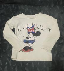 Bela decija majica sa Minnie Mouse