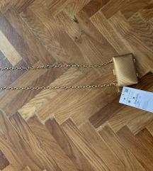 Metalna torbica-novcanik, Zara NOVO