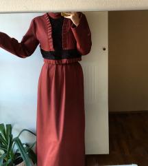 Duga jesenja haljina