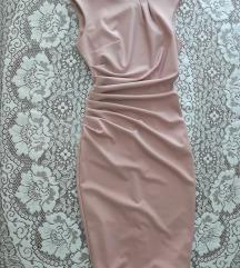 Rinascimento savršena prljavo roze haljina