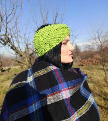 Pletena turban traka