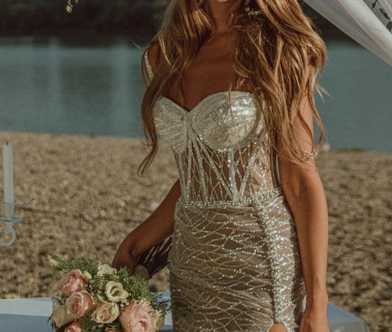 Penna Atelier haljina-vencanica S/M SLIKE UZIVO%%