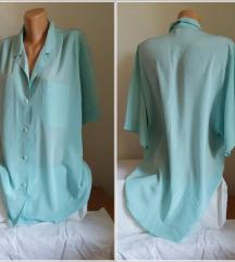 3.3.2. Zelena elegantna XXL košulja