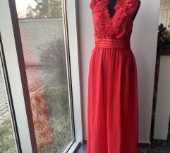 Crvena haljina elegantna