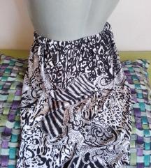 Lepršava suknja animal print