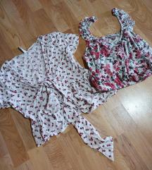 Dve cvetne bluzice