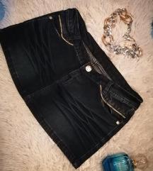 💙 Teksas mini suknjica 💙 NOVO