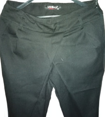Crne harem pantalone