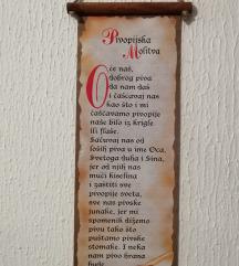 Pivopijska molitva, poster za zid