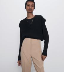 Zara krem pantalone