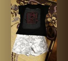 Majica i sorc za devojcice