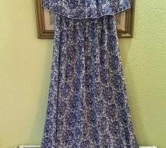 SNIZENO 1000 Dugacka letnja haljina XL