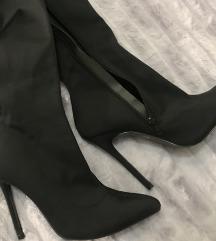 SNIZENO 3900-truffle over knee boots