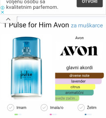 Pulse For Him 50 ml