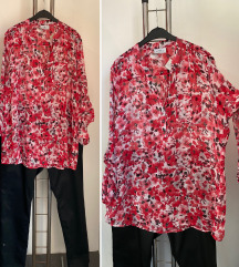 GINA BENOTI cvetna tunika za punije dame