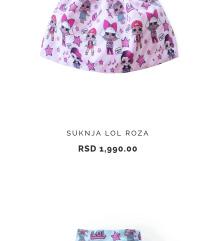 Lol suknja