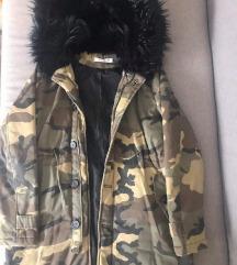 Maskirna jakna M