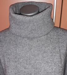 Džemper - siva rolka XL/XXL