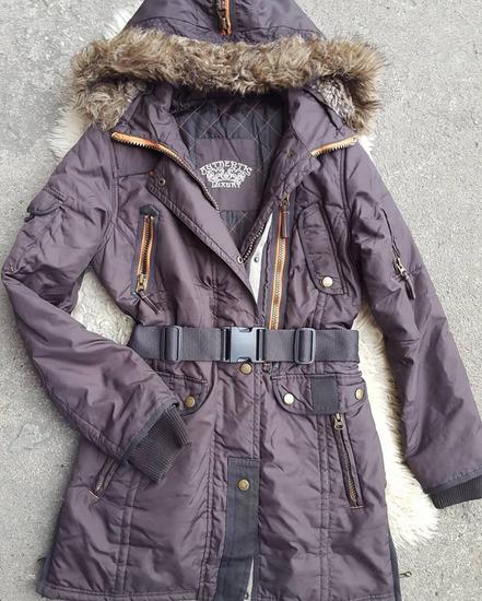 Zimska jakna sa krznom - kao nova