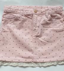 H&M suknjica vel 122 KAO NOVA