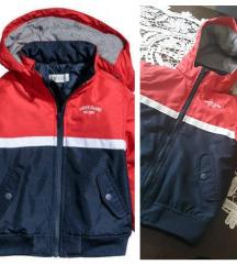 H&M zimska jakna, 4-5 god.