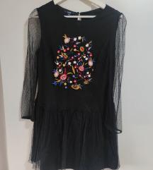 Kiabi Crna haljina M