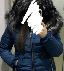 Zimska jakna, prirodno krzno,XL