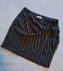 Suknja na preklop H&M