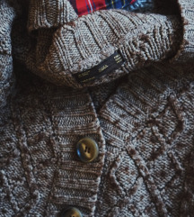 Zara džemper kardigan