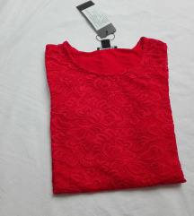 Amisu elegantna cipkana bluza