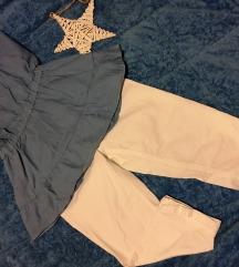 S'Oliver 3/4 pantalone, poklon Bershka majica