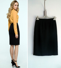 Ronnetta vintage midi pencil suknja S-M
