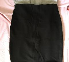 crna kežual suknja
