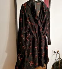 Karner haljina sa cvetnim dezenom