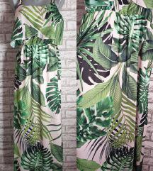 NOVA Duga haljina sa liscem S/M/L (UNI)