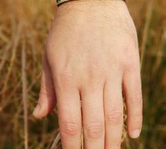 Kožna narukvica Navy (Prirodna koža)