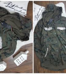 Italy * M/L * militari duks parka NOVO