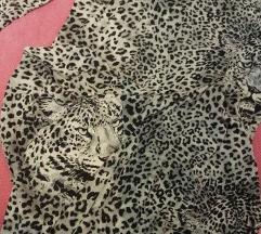 Print haljina asimetricna