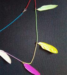 Nova Unikatna 🌸 COLOUR UP 🌺 ogrlica/Poklon***
