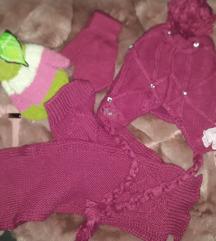 Novo Dečiji Komplet kapa,šal i dva para rukavica