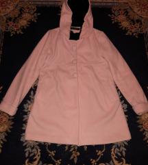 Zenski roze kaput