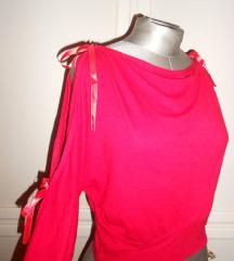 NOVO sexy red bluzica S/M