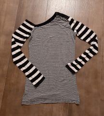 Crno-bela majica-dux, pamuk, M
